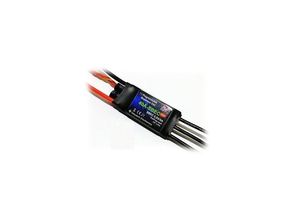 Regulátor Maytech FALCON Pro 32bit -40A SBEC