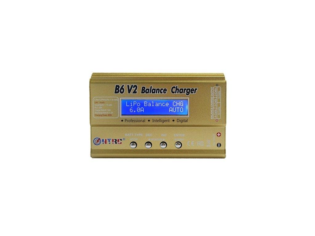 Nabíječ B6 V2 (LiHV) 80W (6A) - AKCE !