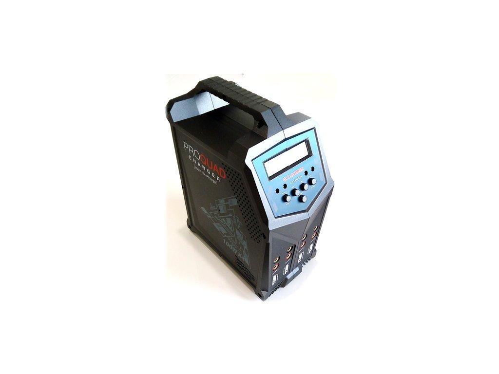 Nabíječ GT Power X4 Pro Quad 4x100W 7A Lipo, LiHV, LiFe, Li-ion, Nixx,Pb