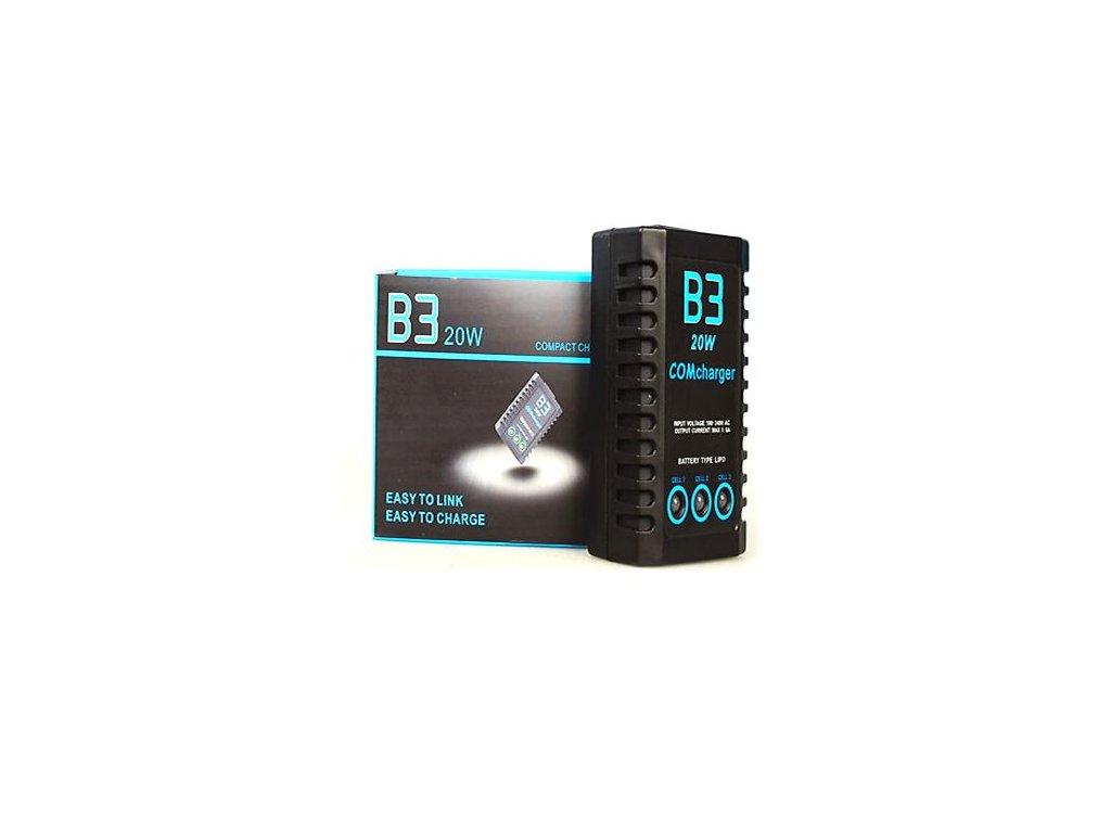 Imax B3 (20W) nabíječ 1-3S, balancer AC 110V-240V