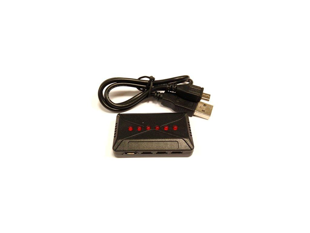 USB nabíječka pro 1S 3,7V jednočlánky li-po  5v1