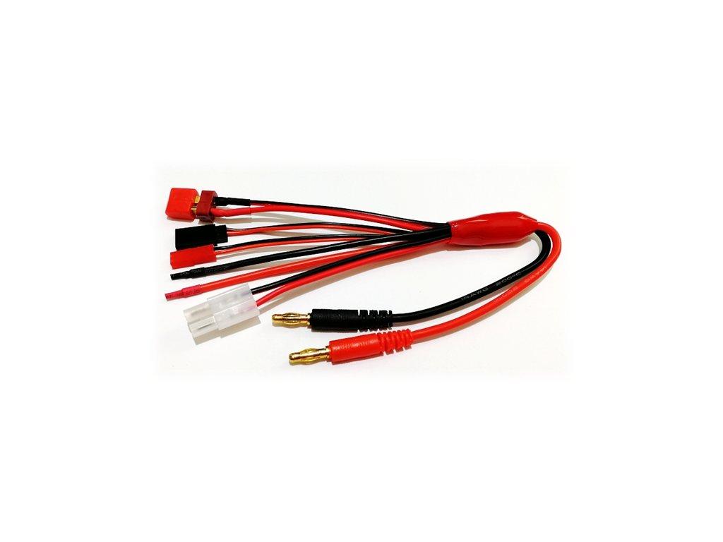 Propojovací kabely pro nabiječe 5+1