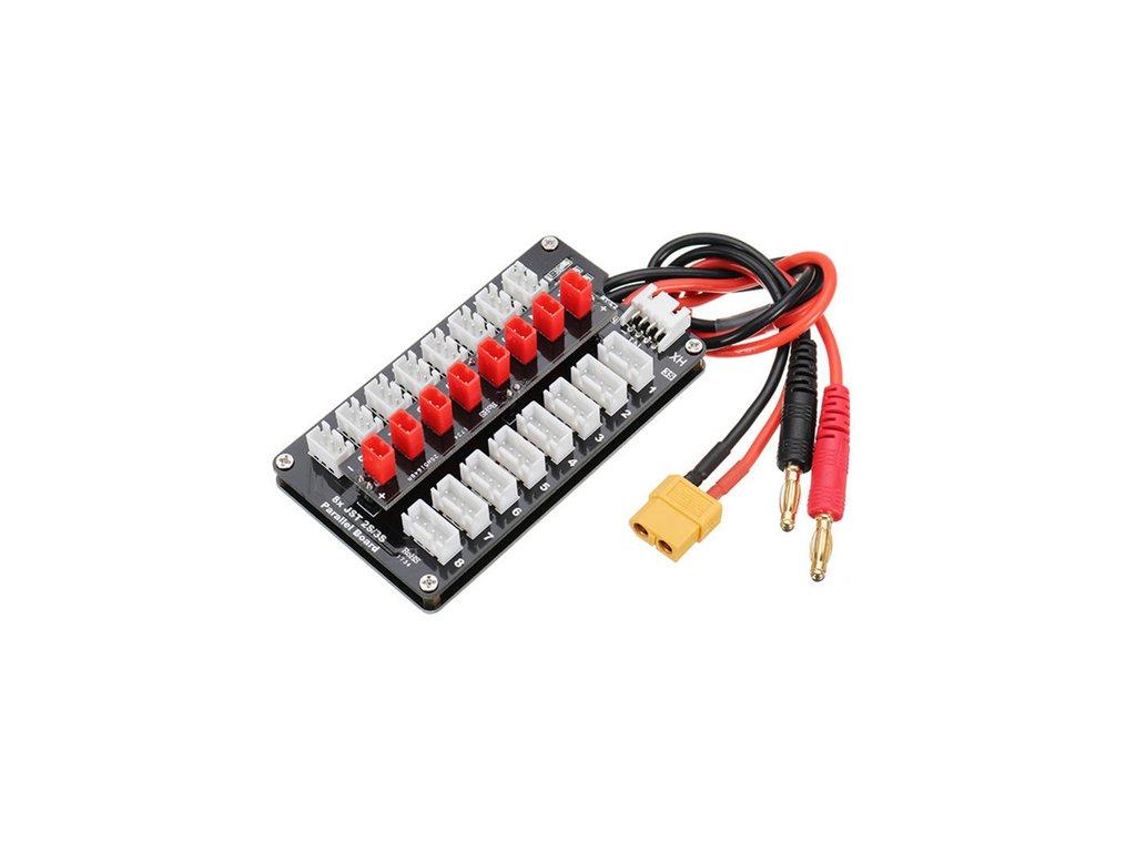 Nabíjecí deska 2S/3S JST Parallel board (8 baterií)