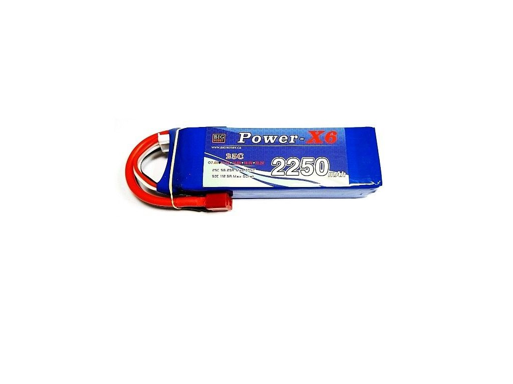 Power X6 2200 mAh 3S 25C (50C)