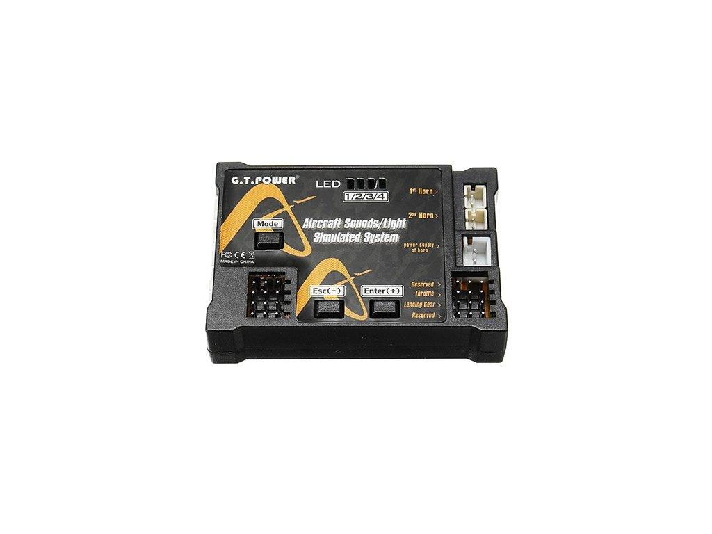 Aircraft sounds systém - Letecký zvukový modul