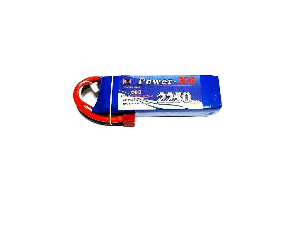 Power X6 2200 mAh 3S 60C (120C)