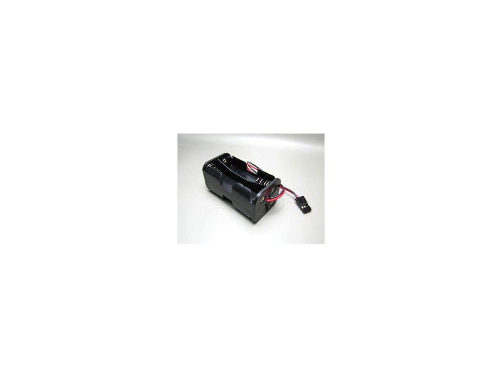 Držák baterie 4xAA s kabelem (2x2AA pod sebou)