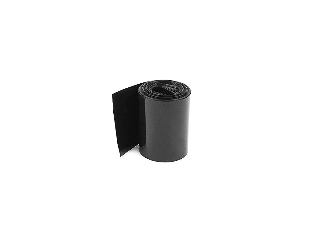 Teplem smršťovací PVC fólie 75mm (bužírka)