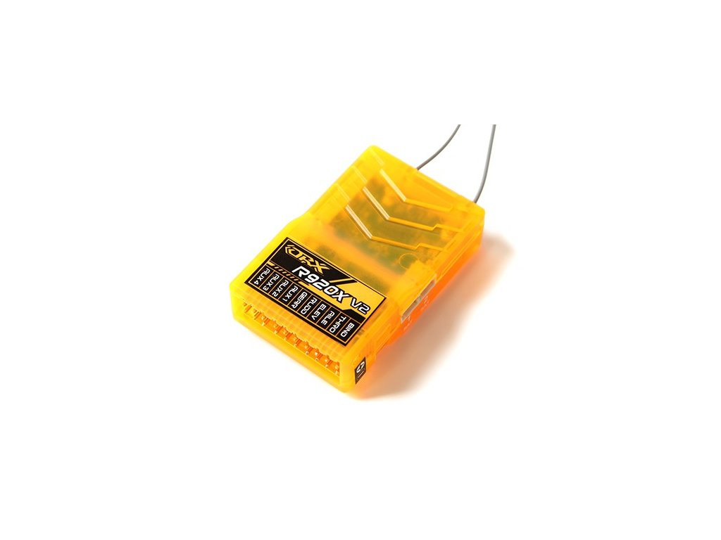 Přijímač OrangeRx R920X V2 SBUS 9Ch 2.4GHz DSM2/DSMX