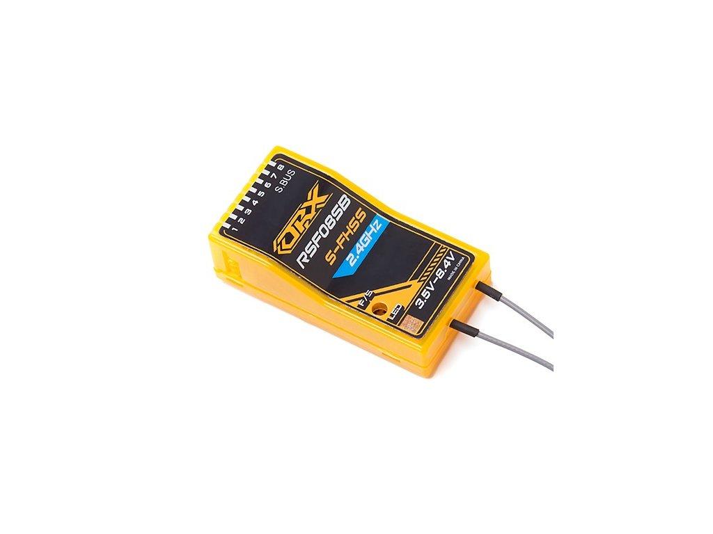 Přijímač Orange Rx RSF08SB Futaba S-FHSS/FHSS-2 Compatible 8ch w/ FS and SBus