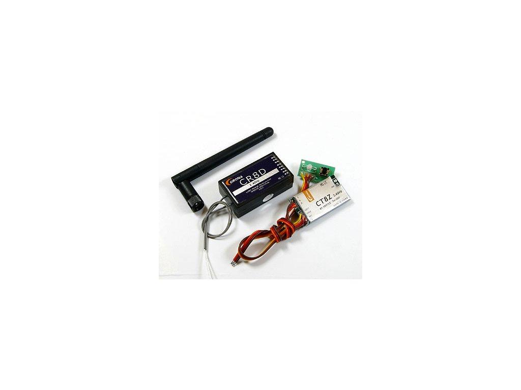 Corona 2.4GHz modul CT8Z+CR8D pro DIY (DSSS)