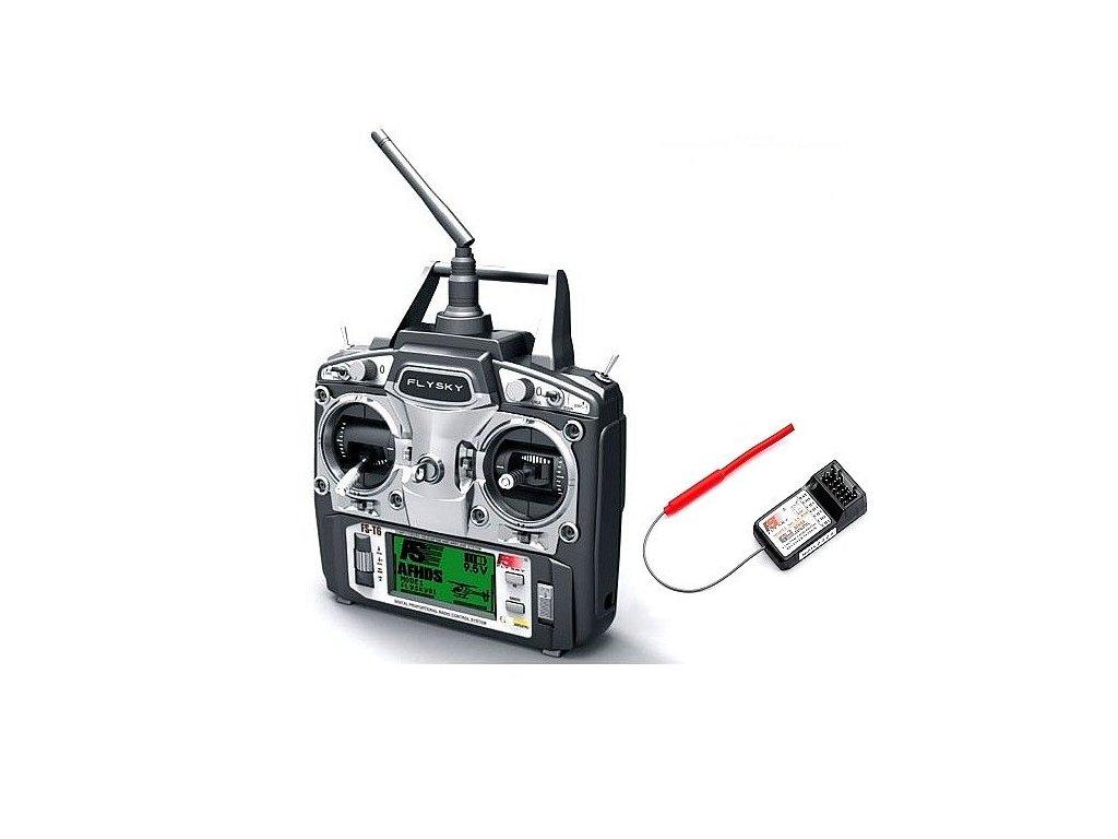 Fly Sky  T6 6Ch  vysílač s modulem a přijímačem 6ch - mode1