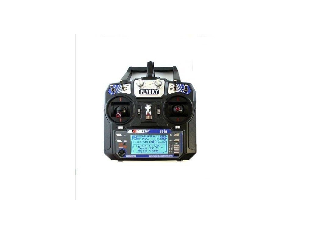 Fly Sky FS-I6 2.4GHz AFHDS vysílač 6CH+ všechny telemetrické senzory (mode2)