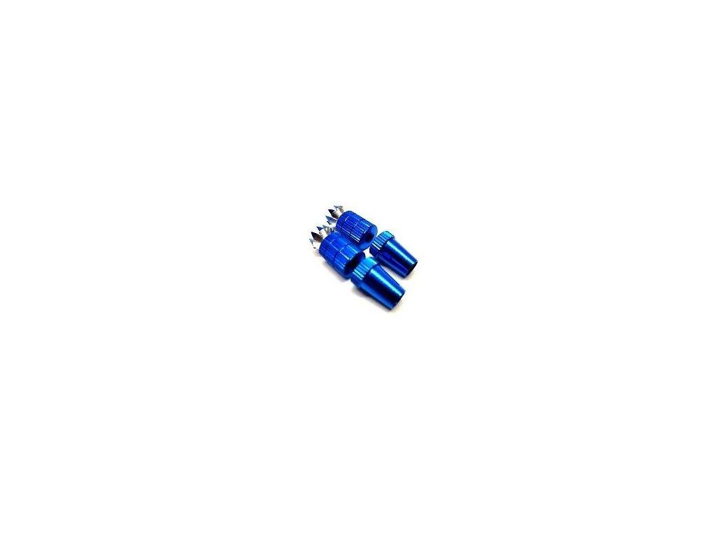 Koncovka páky vysílače M3 modrá