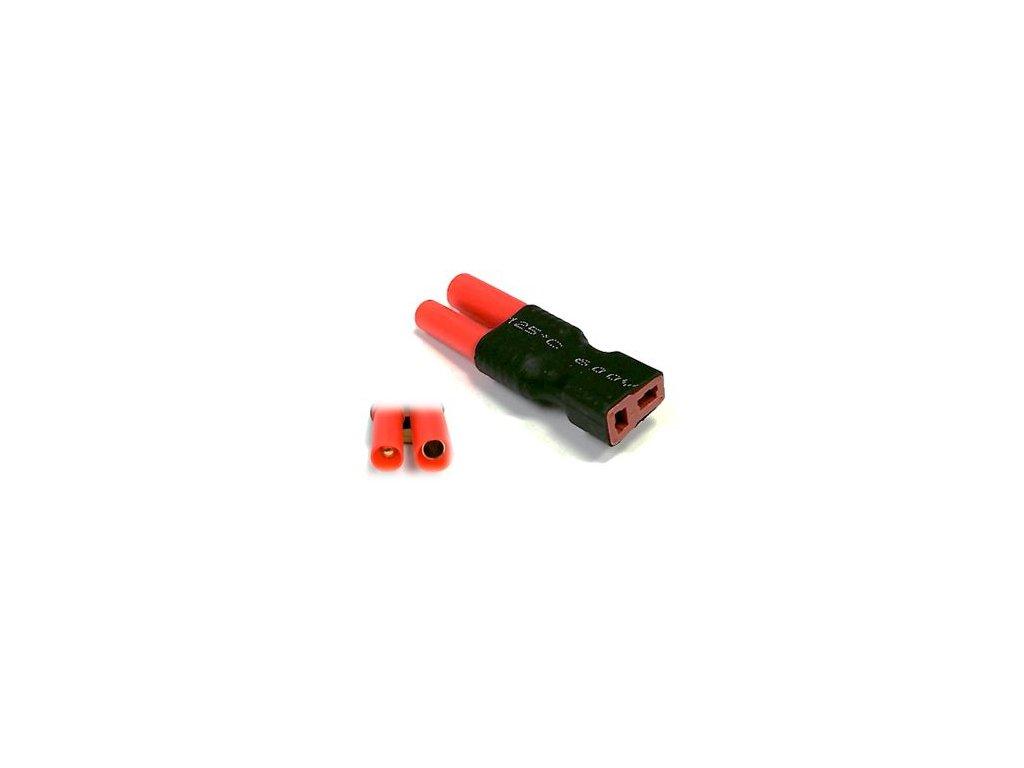 Adapter T- konektor samice / HXT bullet 4mm