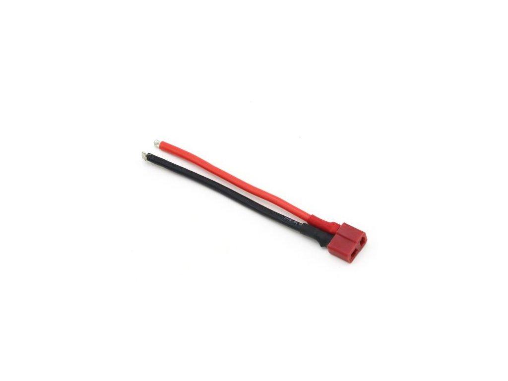 T konektor - samice, kabel 10cm