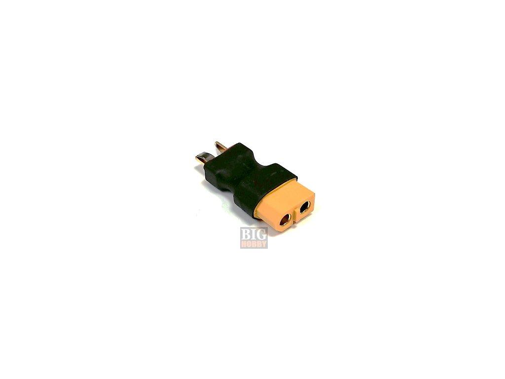 Adapter XT60 samice / T- konektor samec