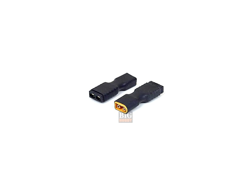 Adapter XT60 samec / Traxxas samice
