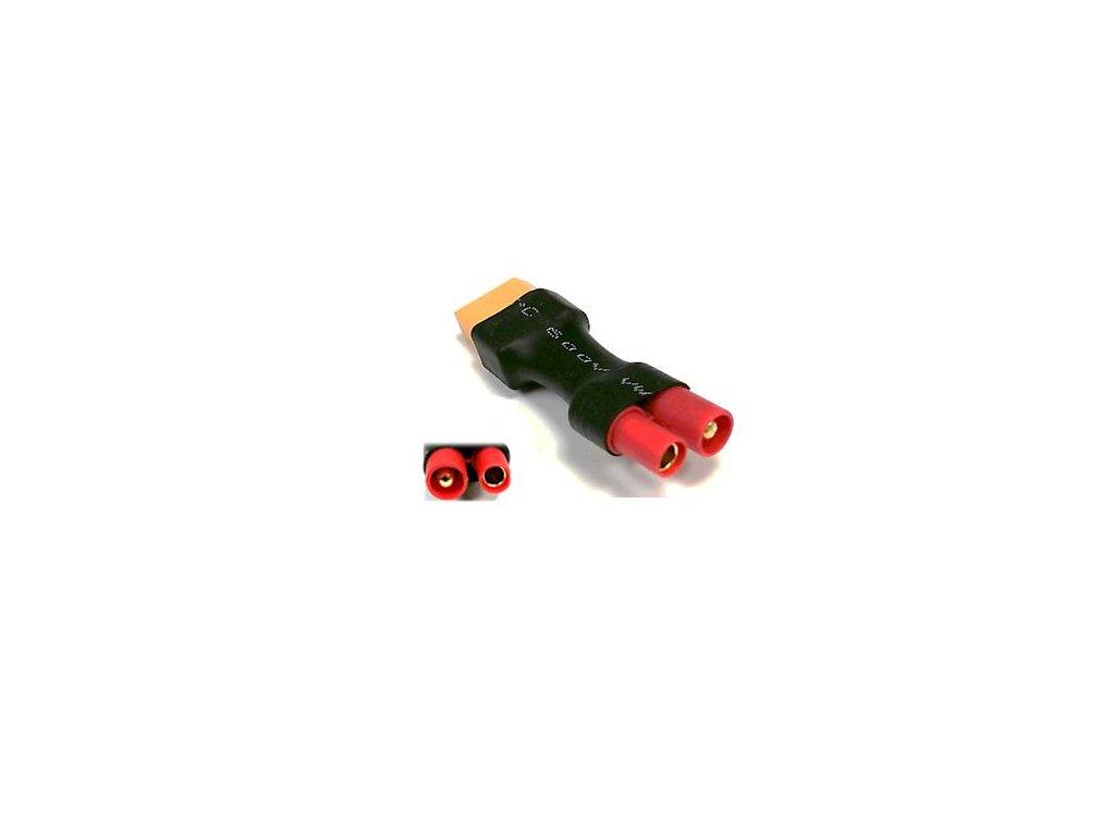 Adapter XT60 samice / HXT bullet 3,5mm