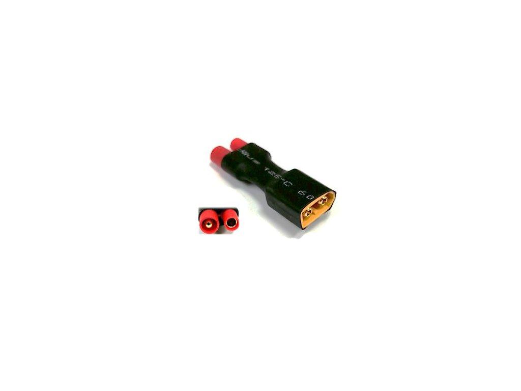 Adapter XT60 samec / HXT bullet 3,5mm