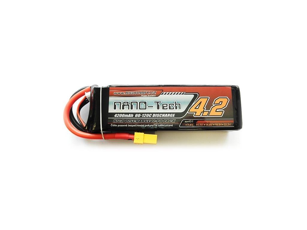 Bighobby- NANO Tech 4200mAh 3S 60C (120C)