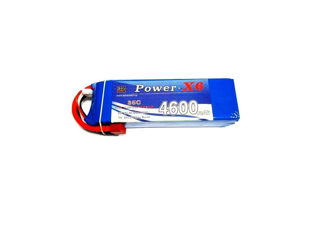 Power X6 4600 mAh 3S 35C (70C)