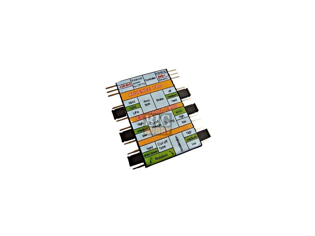 Programovací karta - Sunrise Model PRO