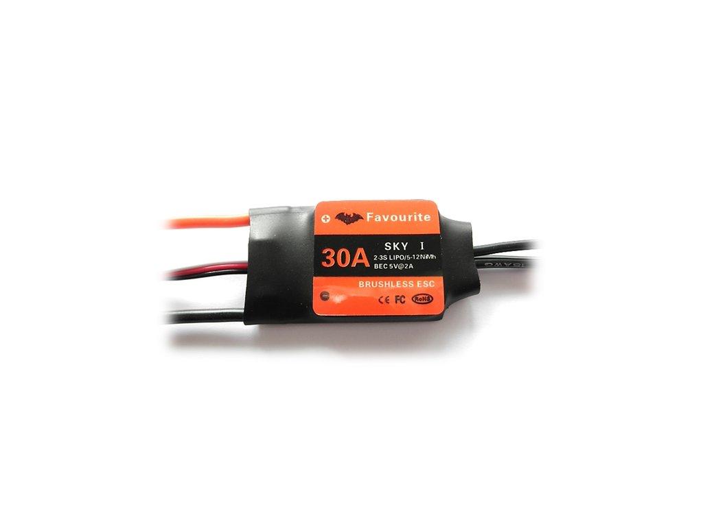 Regulátor Favourite SWL 30A   26g  ESC - Air/Heli