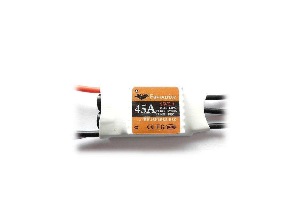 Regulátor Favourite SWL 45A   33g  ESC - Air/Heli