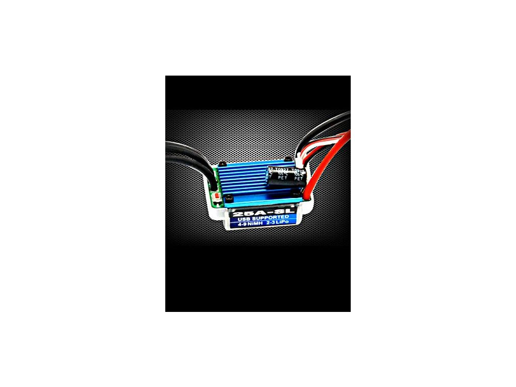 HobbyWing EZRUN 25A-SL-L Brushless ESC 1/16 a 1/18 Cars
