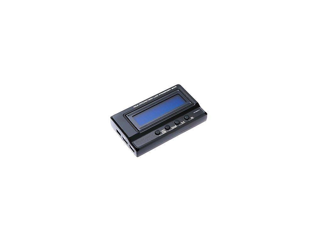 Profi programovací LCD karta (car ESC Favourite)
