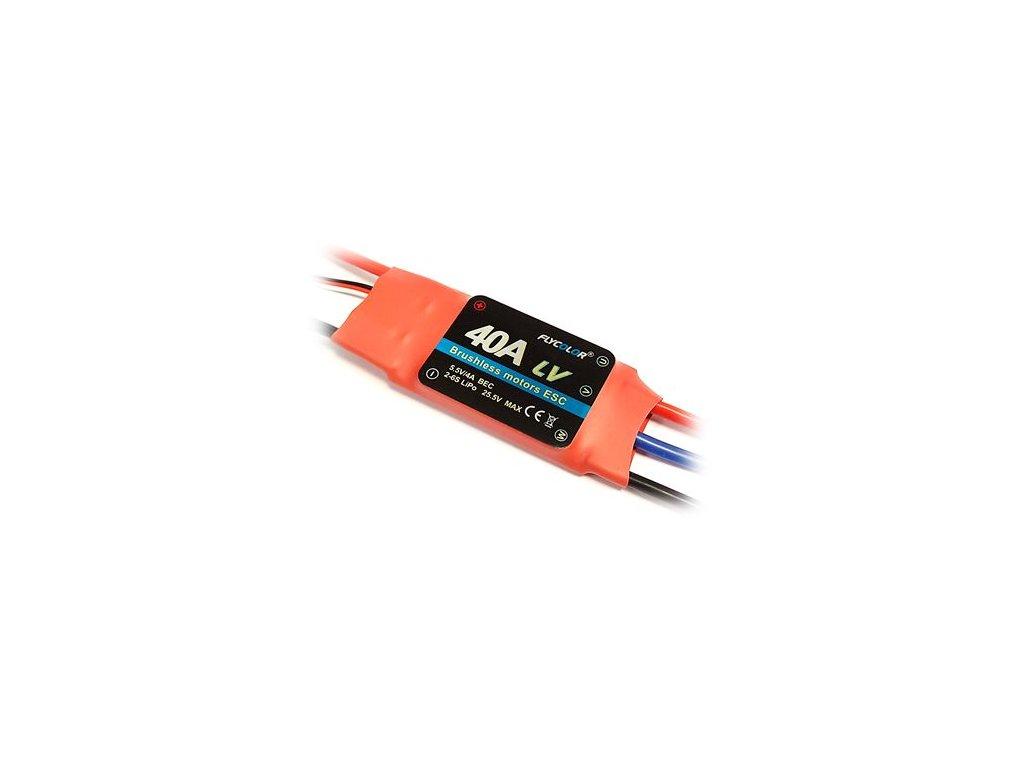 Regulátor FLYCOLOR ESC 40A BEC 5.5V/4A 2-6S