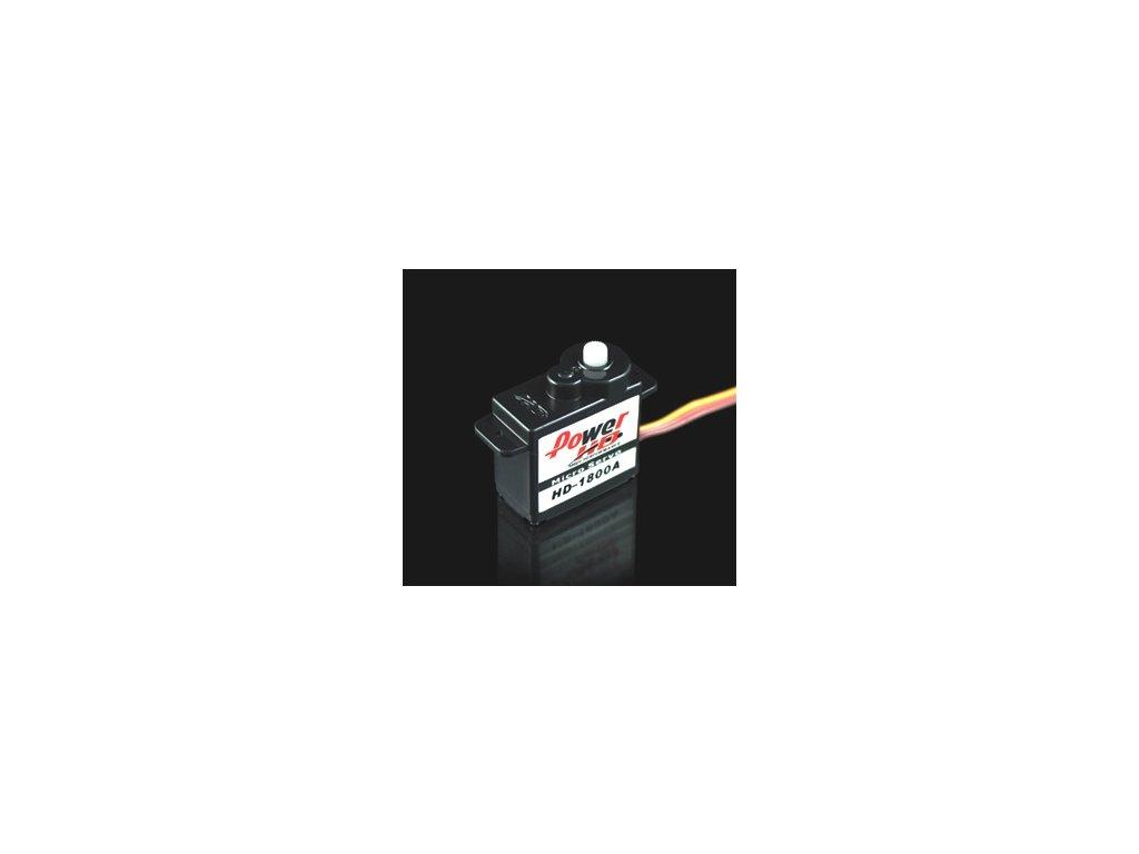 Power HD Servo 1800A 8g/0,08s/1,4kg (Analogové)