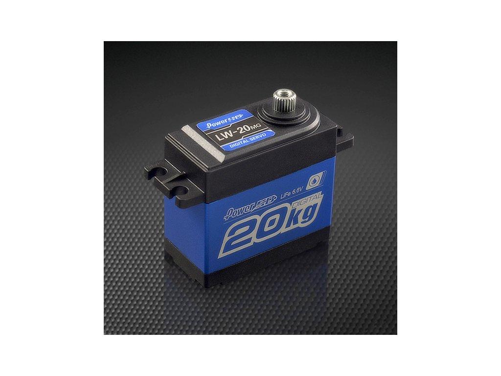 Power HD Servo LW20MG 60g/0,16s/20kg (Digitální, vodotěsné)