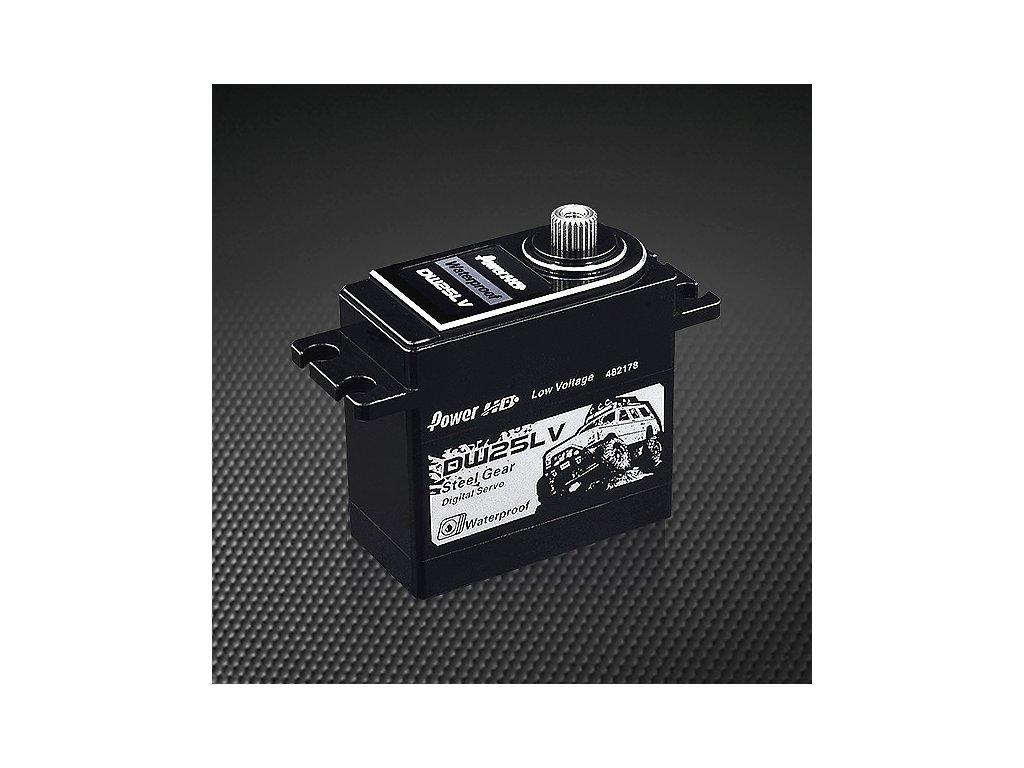 Power HD Servo DW25LV 80g/0,11s/25kg (Digitální, vodotěsné)