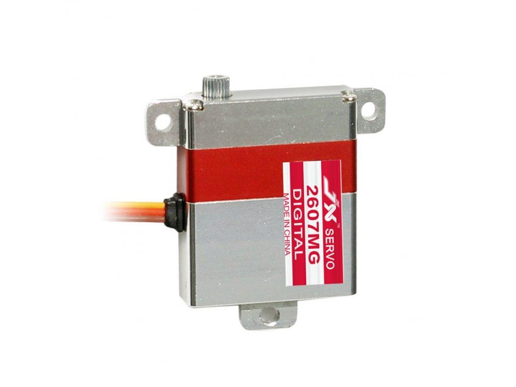 JX Servo PDI-2607MG 26,2g/0,13s/7,21kg (Slim, digitální)