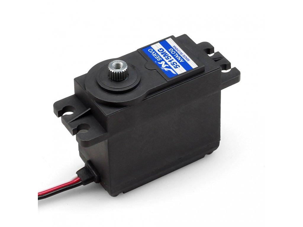 JX Servo PS-5515MG 55g/0,16s/15,5kg (Analogové)