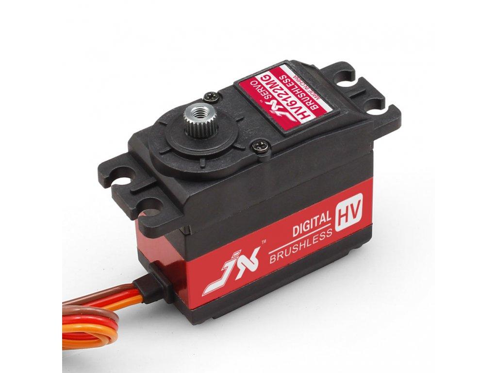 JX Servo BLS-HV6122MG 61g/0,11s/22,1kg (Digitální)