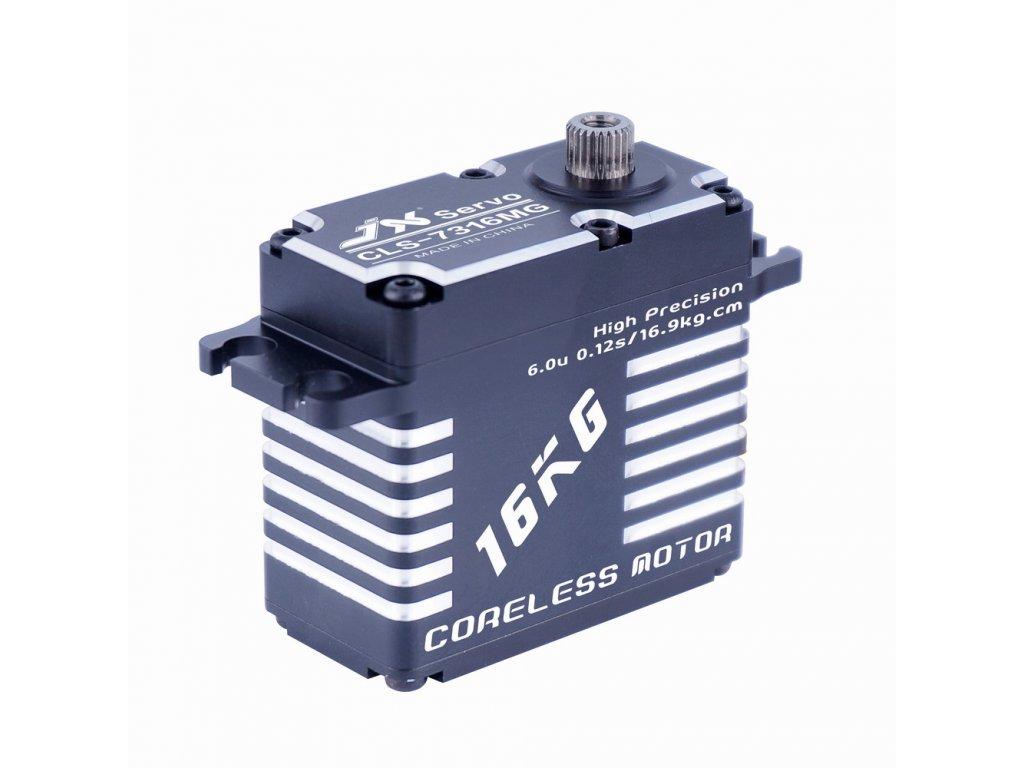 *JX Servo CLS-7316MG 73g/0,12s/17kg (Digitální)