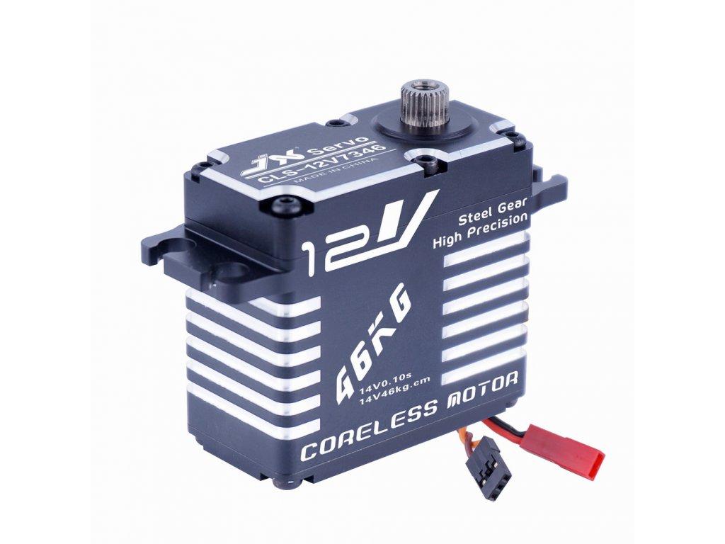 JX Servo CLS-12V 7346MG 73g/0,1s/47kg (Digitální)
