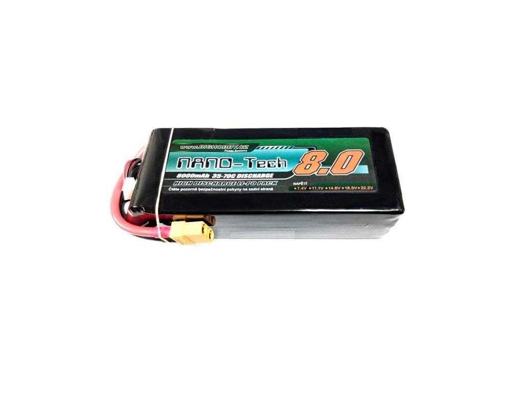 Bighobby- NANO Tech 8000mAh 4S 35C (70C)