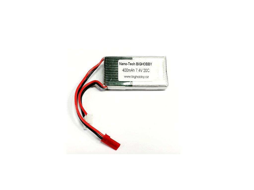 Bighobby- NANO Tech 400mAh 2S 20C (30C)