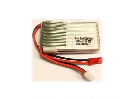 Bighobby - NANO Tech 500mAh 2S 25C (50C)