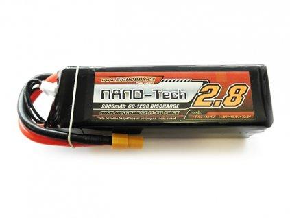 Bighobby- NANO Tech 2800mAh 4S 60C (120C) - EC3
