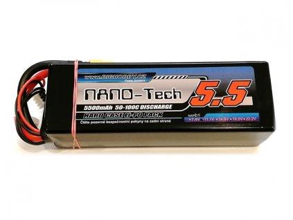 Bighobby- NANO Tech 5500mAh 4S 50C (100C) HC (B)