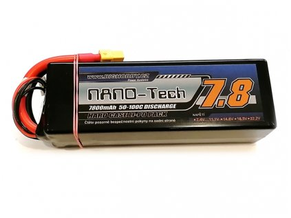 Bighobby- NANO Tech 7800mAh 4S 50C (100C) HC (B)