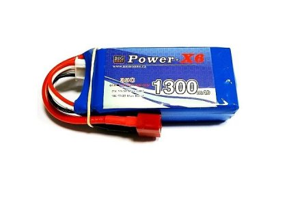 Power X6 1300 mAh 2S 35C (70C)