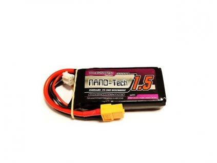 Bighobby - NANO Tech 1500mAh 2S 25C (50C)