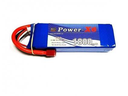 Power X6 1800 mAh 2S 35C (70C)