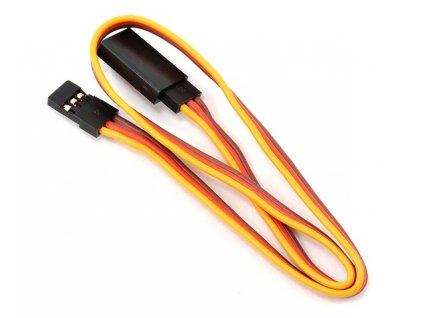 Prodlužovací (10cm) JR servo kabel 26AWG (tenký)